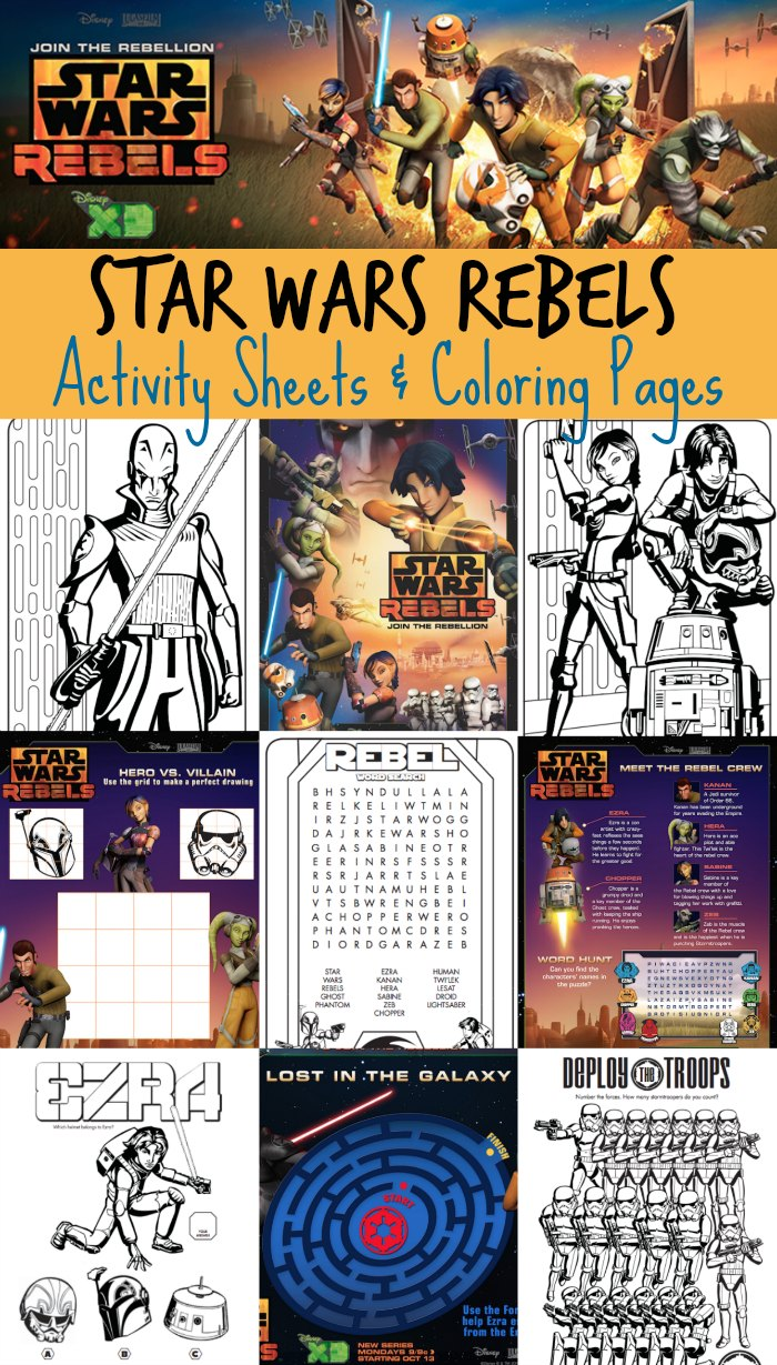 FREE Star Wars Rebels Activity Pack Free Homeschool Deals