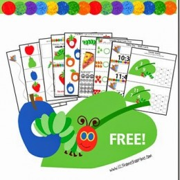 FREE Very Hungry Caterpillar Pack