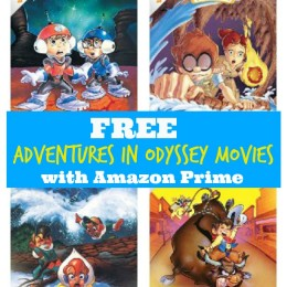 Free Adventures in Odyssey Movies on Amazon Prime!