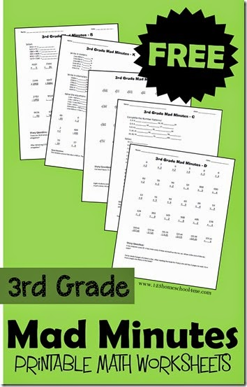 free printable worksheets 3rd grade math  »  8 Photo »  Awesome ..!