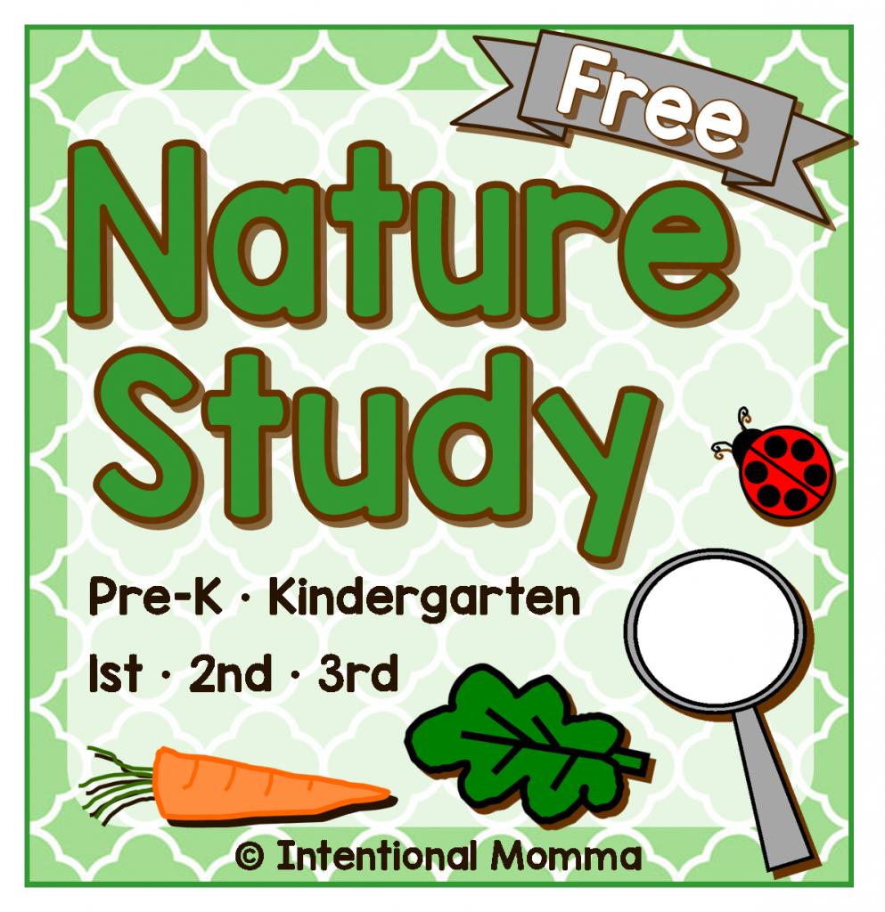 FREE Nature Study Pack