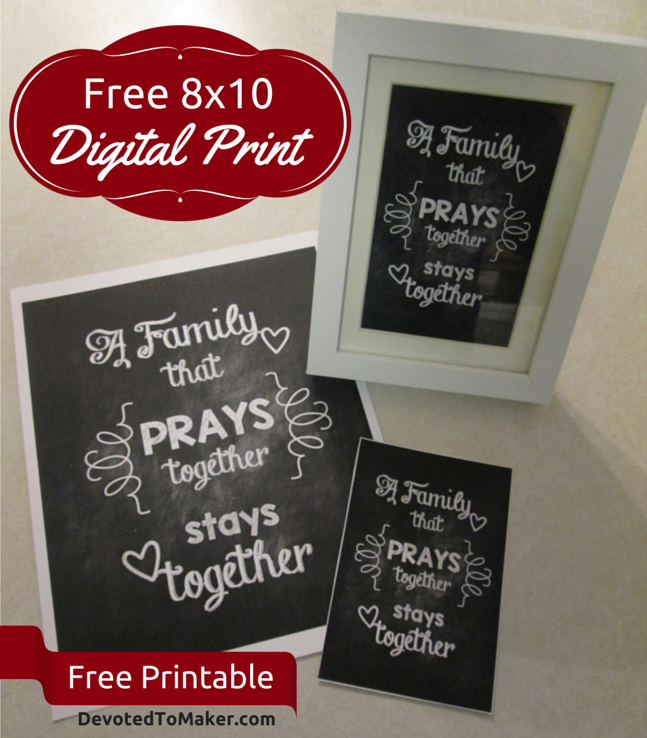 FREE Family Printable
