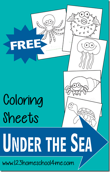 free ocean animals coloring pages free homeschool deals. Black Bedroom Furniture Sets. Home Design Ideas