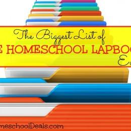 The BIGGEST List of FREE HOMESCHOOL LAPBOOKS – Ever!