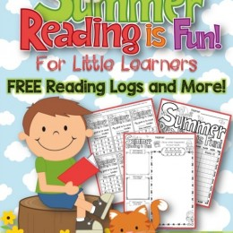 Free Summer Reading is Fun Printables