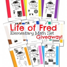 LIFE OF FRED Elementary Math Homeschool Giveaway from Educents!