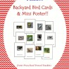 FREE Back Yard Bird Cards
