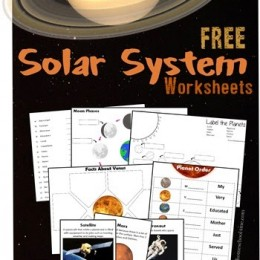 FREE Solar System Learning Pack