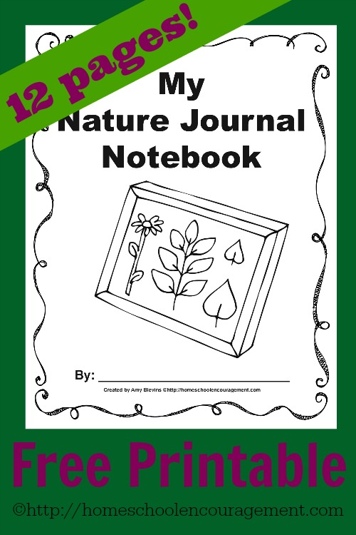 free nature journal free homeschool deals. Black Bedroom Furniture Sets. Home Design Ideas