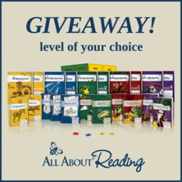 All About Reading Giveaway – Level of Your Choice!