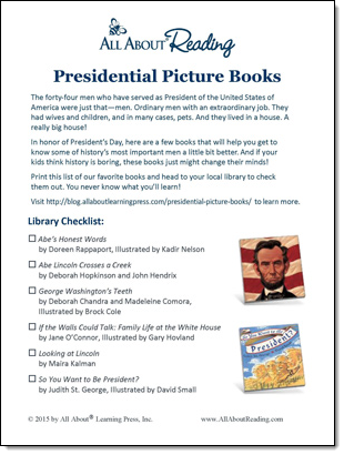 Free Library List Printables