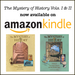 Mystery of History Kindle eBooks – Starting at $3.99!