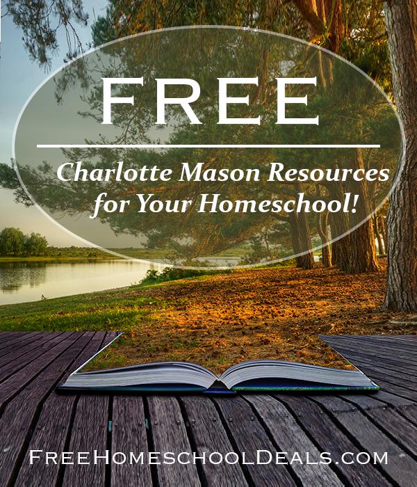 Free Charlotte Mason Homeschooling