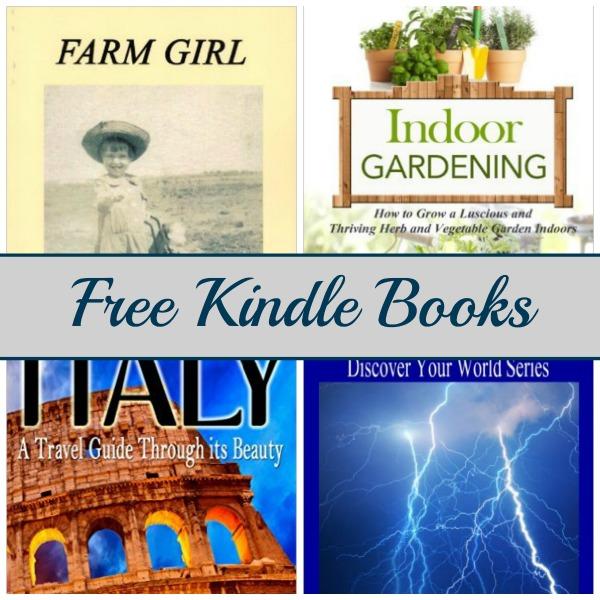 free kindle book list farm girl indoor gardening italy
