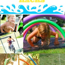 Make Your Own Splash Park: Splash Park HACKS!