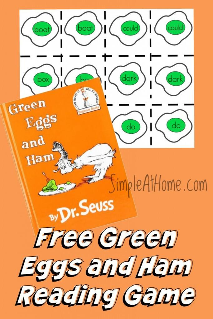 green eggs and ham pdf free