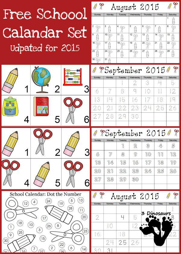 free 2015 school calendar free homeschool deals