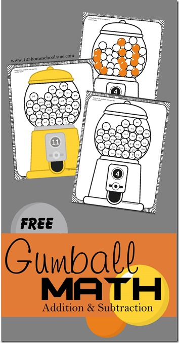 math worksheet : free gumball math worksheets  free homeschool deals © : Free Homeschool Math Worksheets