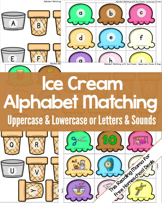 FREE ALPHABET MATCHING ACTIVITY (Instant Download) | Free ...