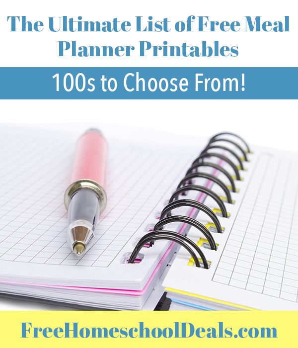 Free Meal Planners