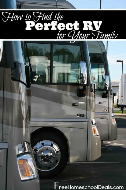 How to find the perfect rv for your family roadschooling for Find the perfect home