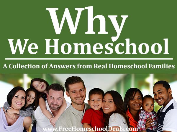 Why Families Homeschool
