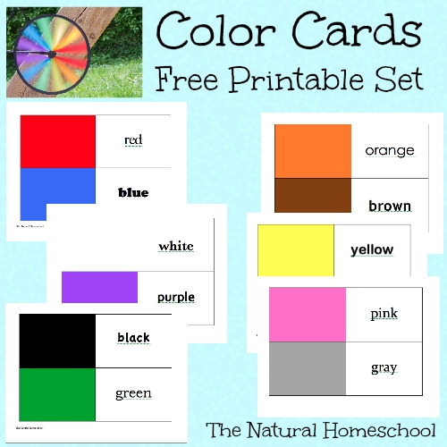 free montessori inspired color wheel activities lesson and printables free homeschool deals. Black Bedroom Furniture Sets. Home Design Ideas