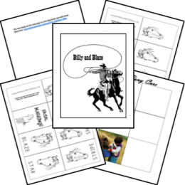 FREE Billy and Blaze Unit Study and Lapbook