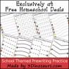 FREE School Themed printables