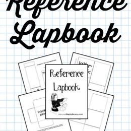 FREE Reference Lapbook