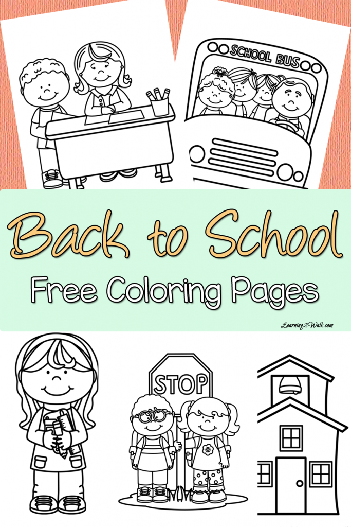 coloring pages back to school - photo#21