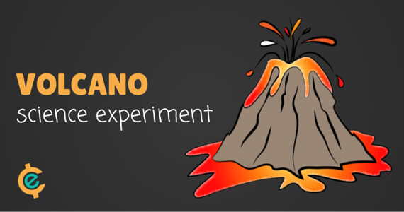 Volcano Experiment for Homeschool Science | Free Homeschool Deals ©