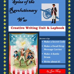 Free Spies of the Revolutionary War Creative Writing Unit & Lapbook