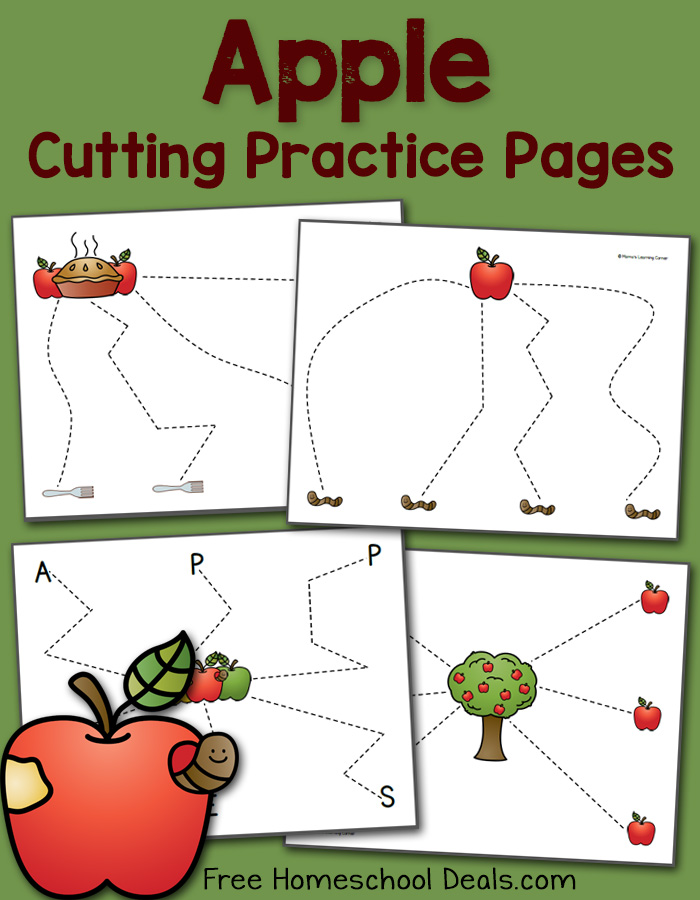 Apple Cutting Pages