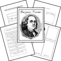 FREE Benjamin Franklin Lapbook