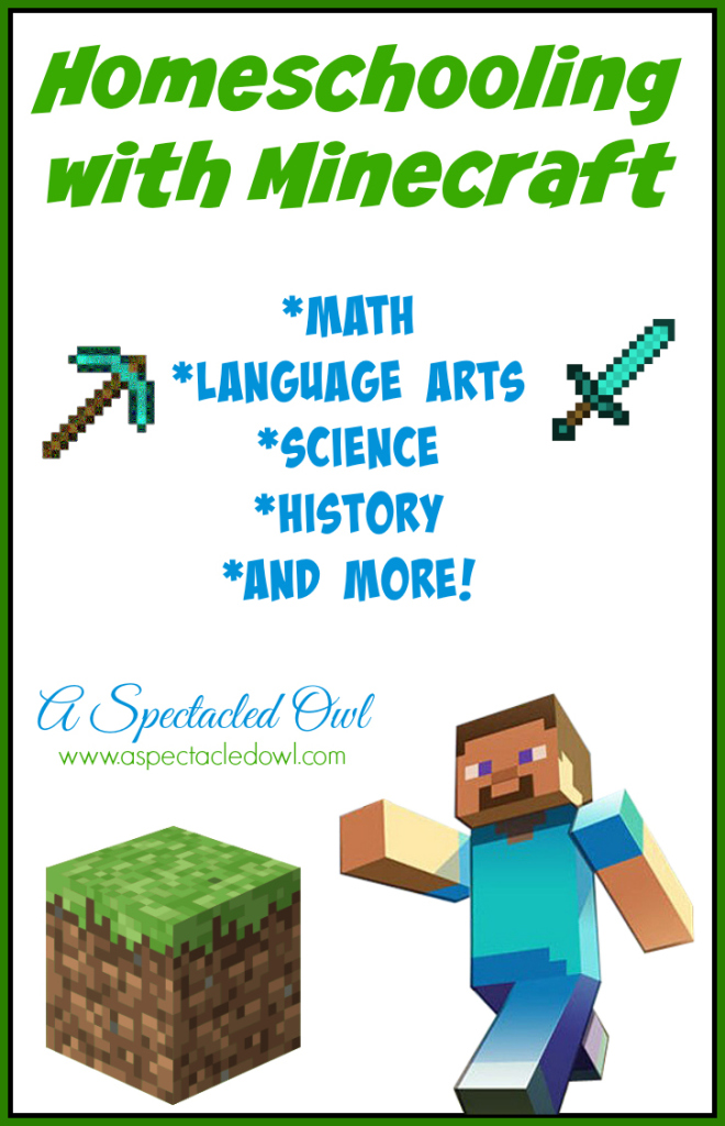 free minecraft learning printables various subjects free homeschool deals. Black Bedroom Furniture Sets. Home Design Ideas