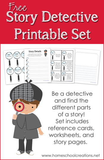 Agile image within printable detective games