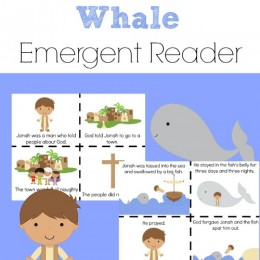 FREE Jonah and the Whale Emergent Reader