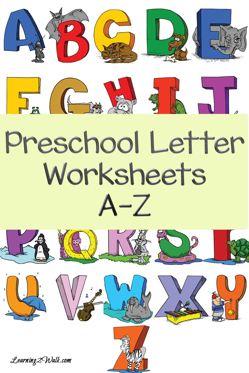 FREE Preschool A-Z Worksheets | Free Homeschool Deals