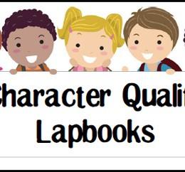 FREE Character Quality Lapbooks
