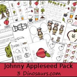 FREE Johnny Appleseed Printable Pack