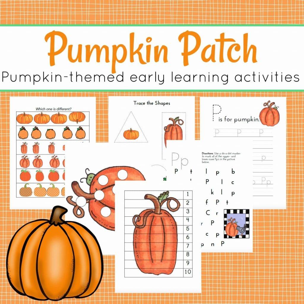 FREE Pumpkin Patch Printables