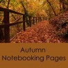 Free Autumn Notebooking Pages