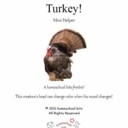 Free Turkey Mini-Unit Study