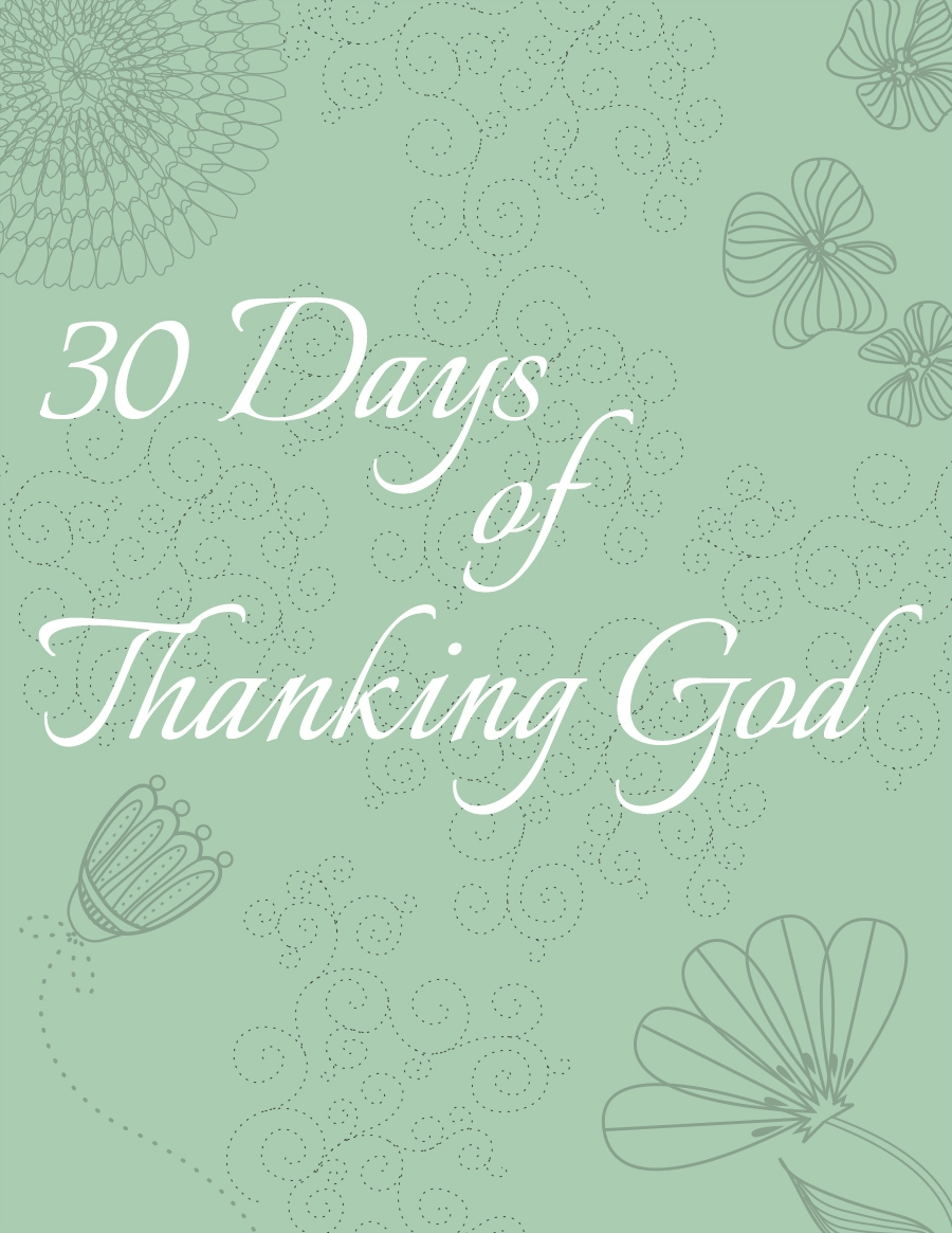 Free 30 Days of Thanking God Pack