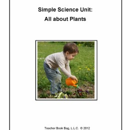 FREE Simple Science Unit: All About Plants