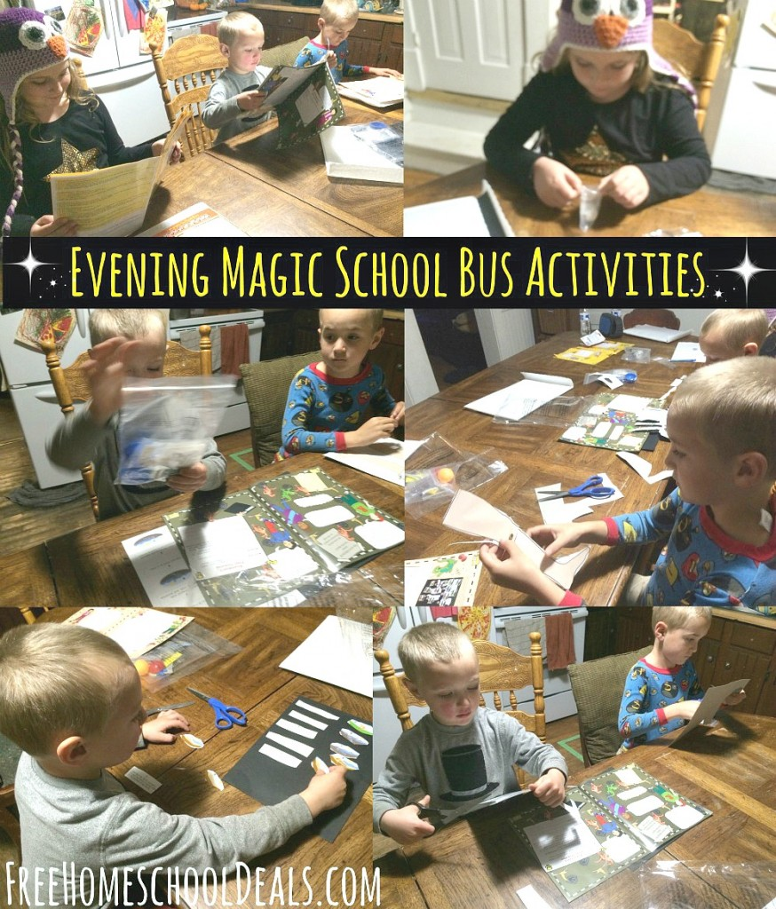 Evening Magic School Bus Activities