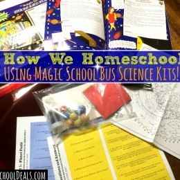 How We Homeschool With Magic School Bus Science Kits!