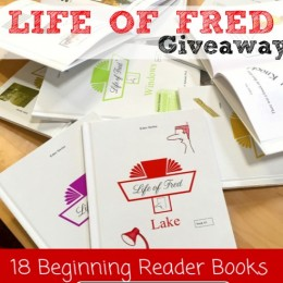 LIFE OF FRED BEGINNING READER COMPLETE SET GIVEAWAY! ($85 Value!)