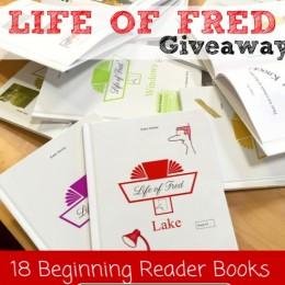 LIFE OF FRED BEGINNING READER COMPLETE SET GIVEAWAY! ($85 Value!)
